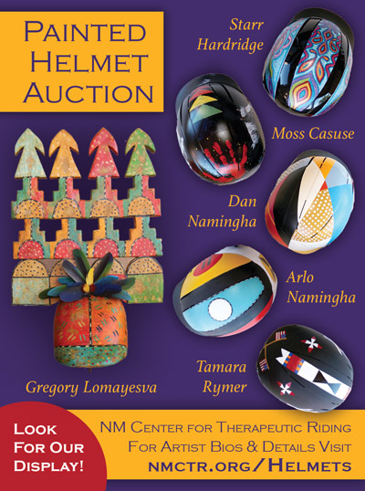 Painted Helmets Auction